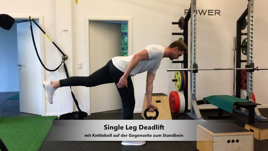 Golfathletik Hamburg - Single Leg Deadlift