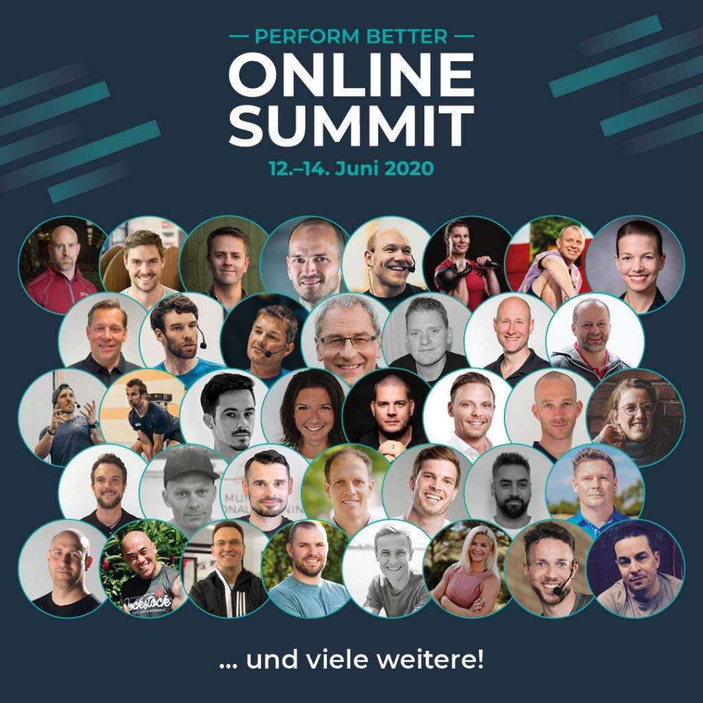 TRAININGSDECK Personal Training Hamburg beim Perform Better Online Summit